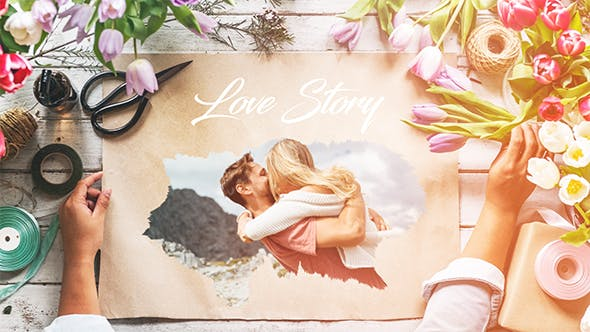 Thumbnail for Love Story Slideshow