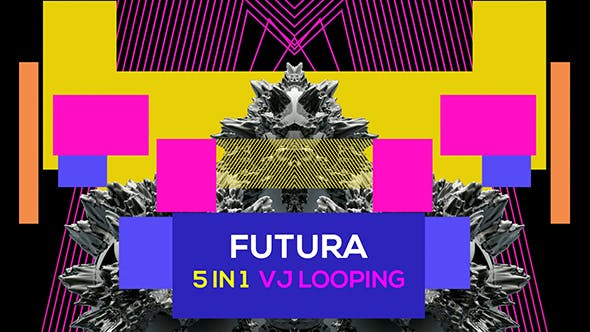 Cover Image for Futura 5 in 1 Vj Loop