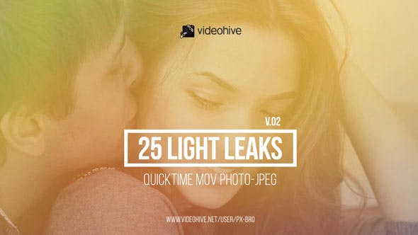 Thumbnail for 25 Light Leaks Pack | v.2