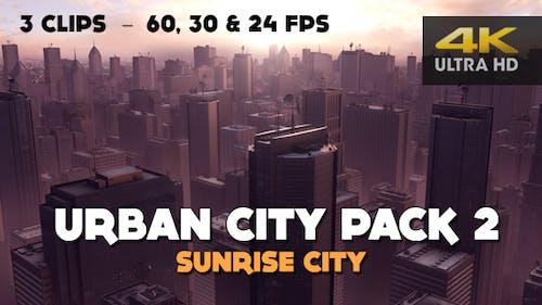 Urban City Pack 2 - Sunrise City (4K)