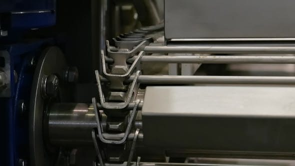 Thumbnail for Food Factory Automated Robotic Conveyor Line