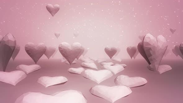 Smooth Heart Bg 4k