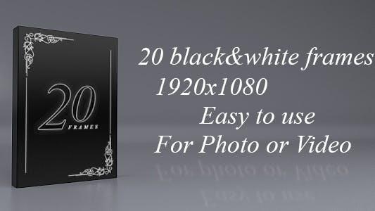 Cover Image for Balck White Frames