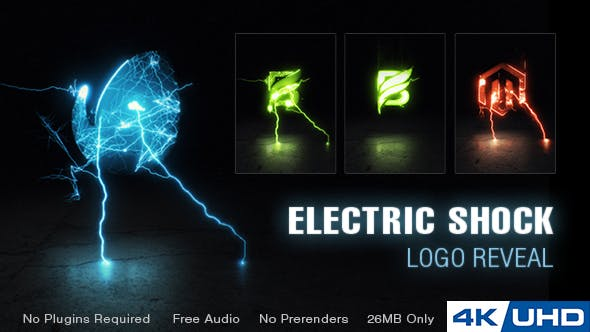 Thumbnail for Electric Shock Logo Reveal