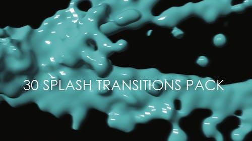 30 Splash Transitions Pack