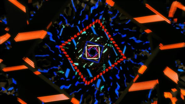Thumbnail for Colorfull Abstract Background VJ Loop v1