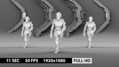 Pixels Dance