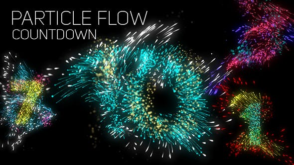 Particle Flow Countdown