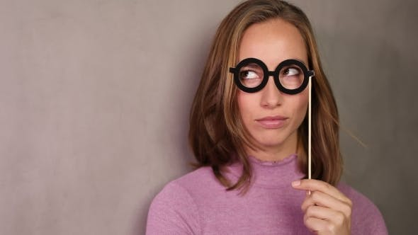 Thumbnail for Girl in Glasses Disguise