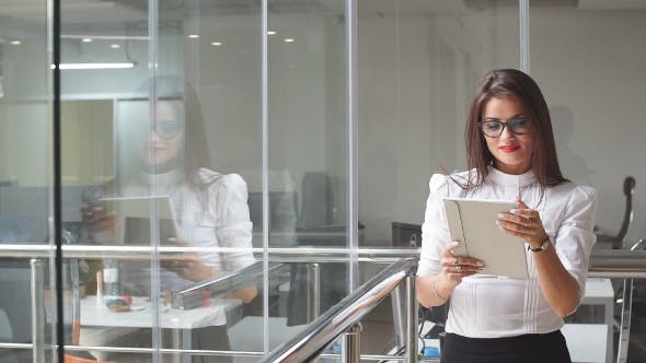 Thumbnail for Attractive Business Woman at Office