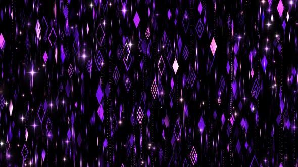 Glittering Purple Background