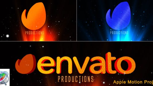 Cover Image for Cinematic Rays Logo - Apple Motion