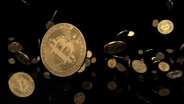 Cover Image for Bitcoin Background - Black