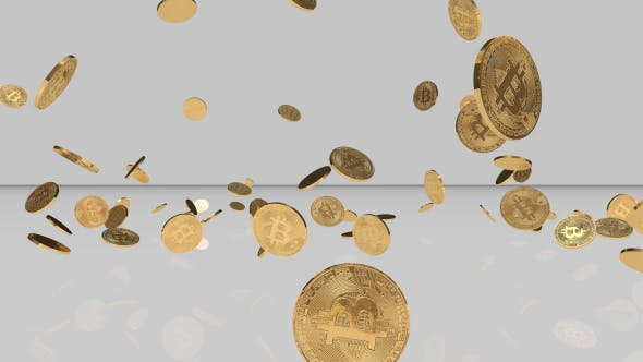 Thumbnail for Bright Bitcoin Background