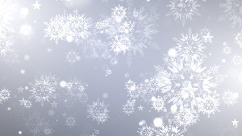 Dynamic Christmas Snowflakes