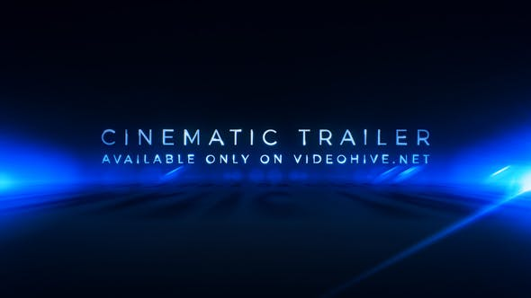 Thumbnail for Cinematic Trailer Titles | Media Opener