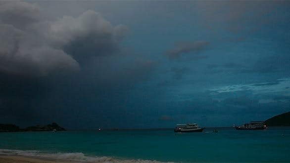 Cover Image for Evening On Ocean Timelapse