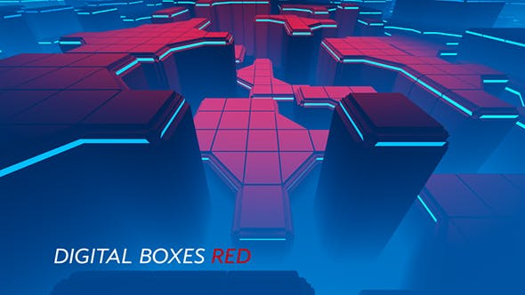 Thumbnail for Digital Boxes Red