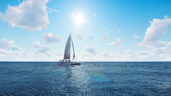 Thumbnail for Sailing Catamaran