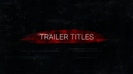 Thumbnail for Action Trailer Titles