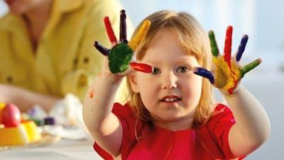 Multicolored Fingers
