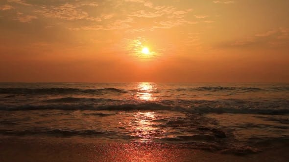 Cover Image for Beautiful Sunset on a Tropical Beach