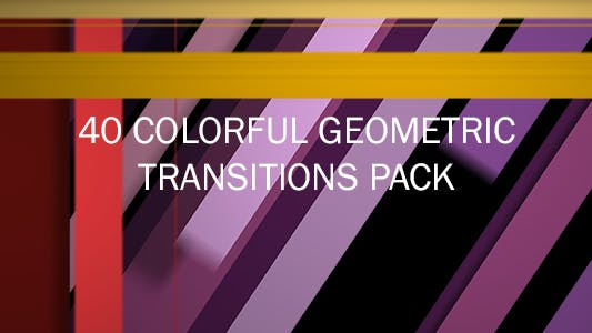 Thumbnail for 40 Colorful Geometric Transitons