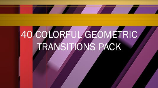 40 Colorful Geometric Transitons