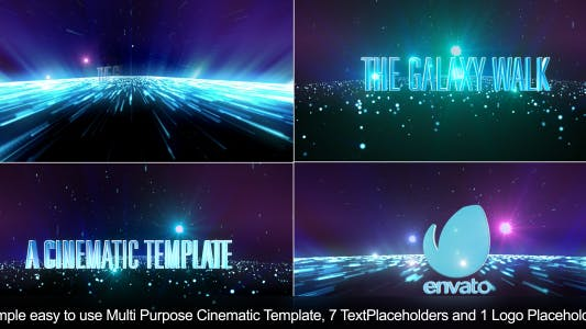 Thumbnail for The Galaxy Walk-Cinematic Template-Apple Motion