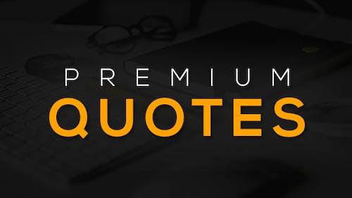 15 Premium Quotes