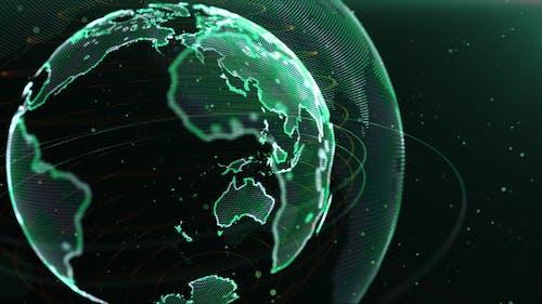World Breaking News Background