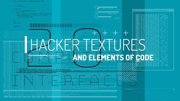 Thumbnail for Hacker Textures And Elements Of Code