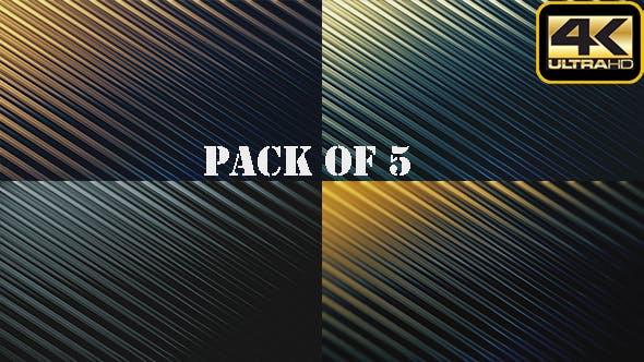 Thumbnail for Metallic Texture Background Loop