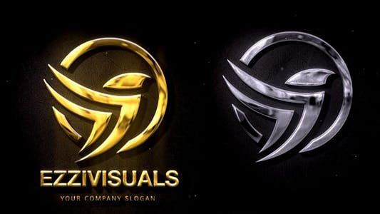 Thumbnail for Silver & Gold Logo Reveal 2