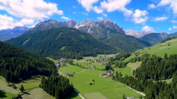 Thumbnail for Scenic View of the Beautiful Landscape in the Alps