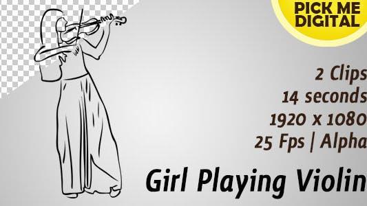 Thumbnail for Girl Playing Violin