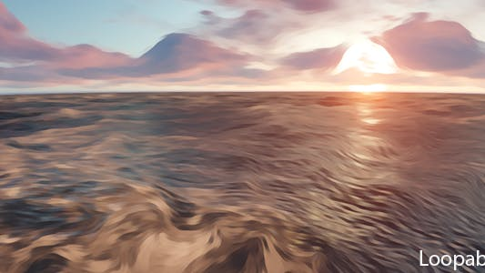Thumbnail for Sea Oil Paint Style