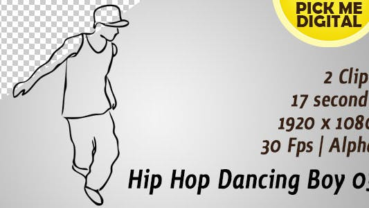 Thumbnail for Hip Hop Dancing Boy 03