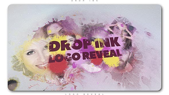 Thumbnail for Logo Drop Ink Reveal