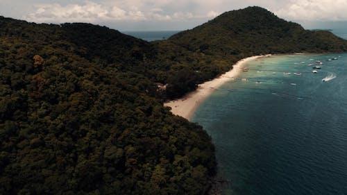 Thailand Coral Island Drone Shot