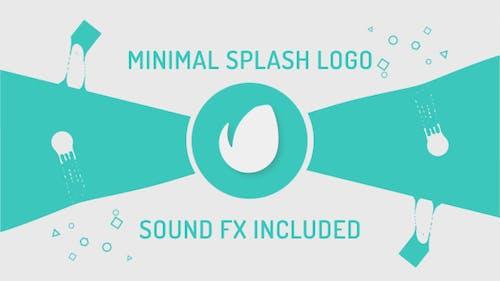 Minimal Splash Logo