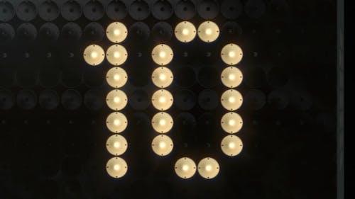 Fashion Lights Countdown