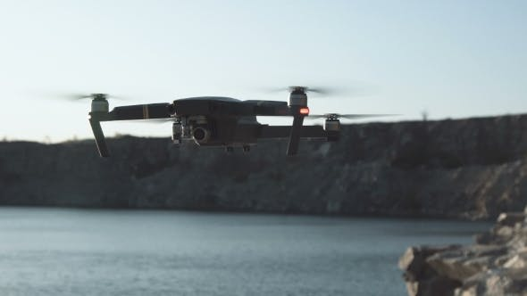 Thumbnail for Flying Drone in Nature