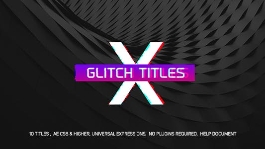 Cover Image for Gradient Glitch Titles