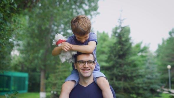 Blue Parent Man.)