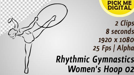 Thumbnail for Rhythmic Gymnastics Women's Hoop 02