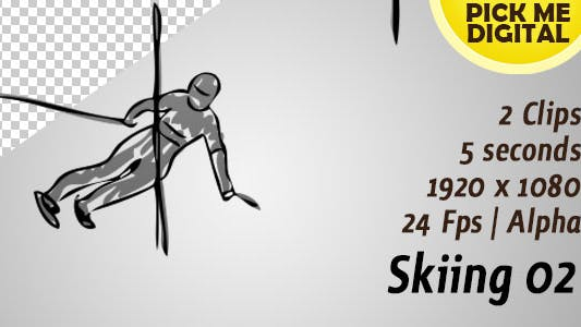 Thumbnail for Skiing 02