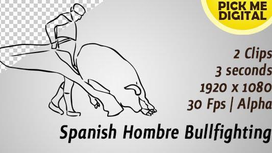 Thumbnail for Spanish Hombre Bullfighting