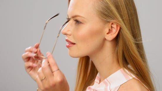 Thumbnail for Beautiful Woman Wearing Glasses