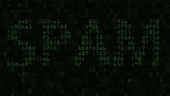 Thumbnail for SPAM Caption on the Computer Screen Made of Text and Numeric Symbols